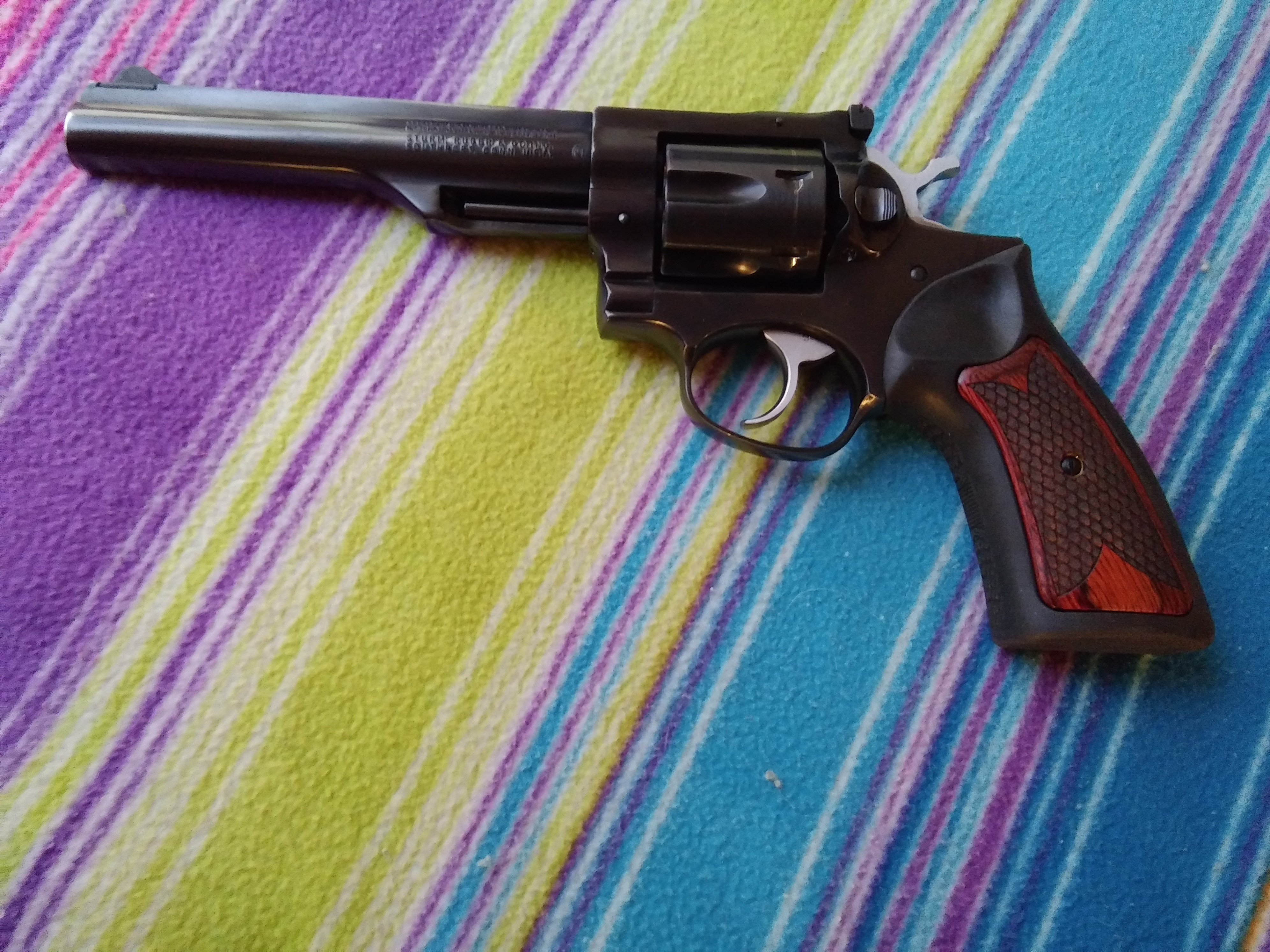 Ruger - GP100 - Altamont Grips | Gun and Game - The
