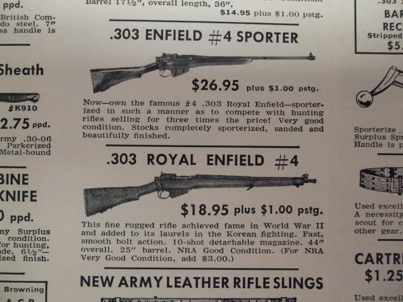 How many of the members recall tha cheap milsurp rifles