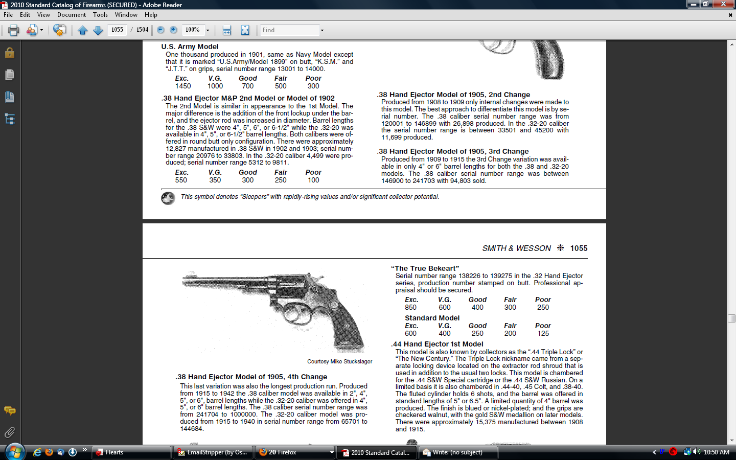info on Smith and Wesson  38 special CTG | Gun and Game