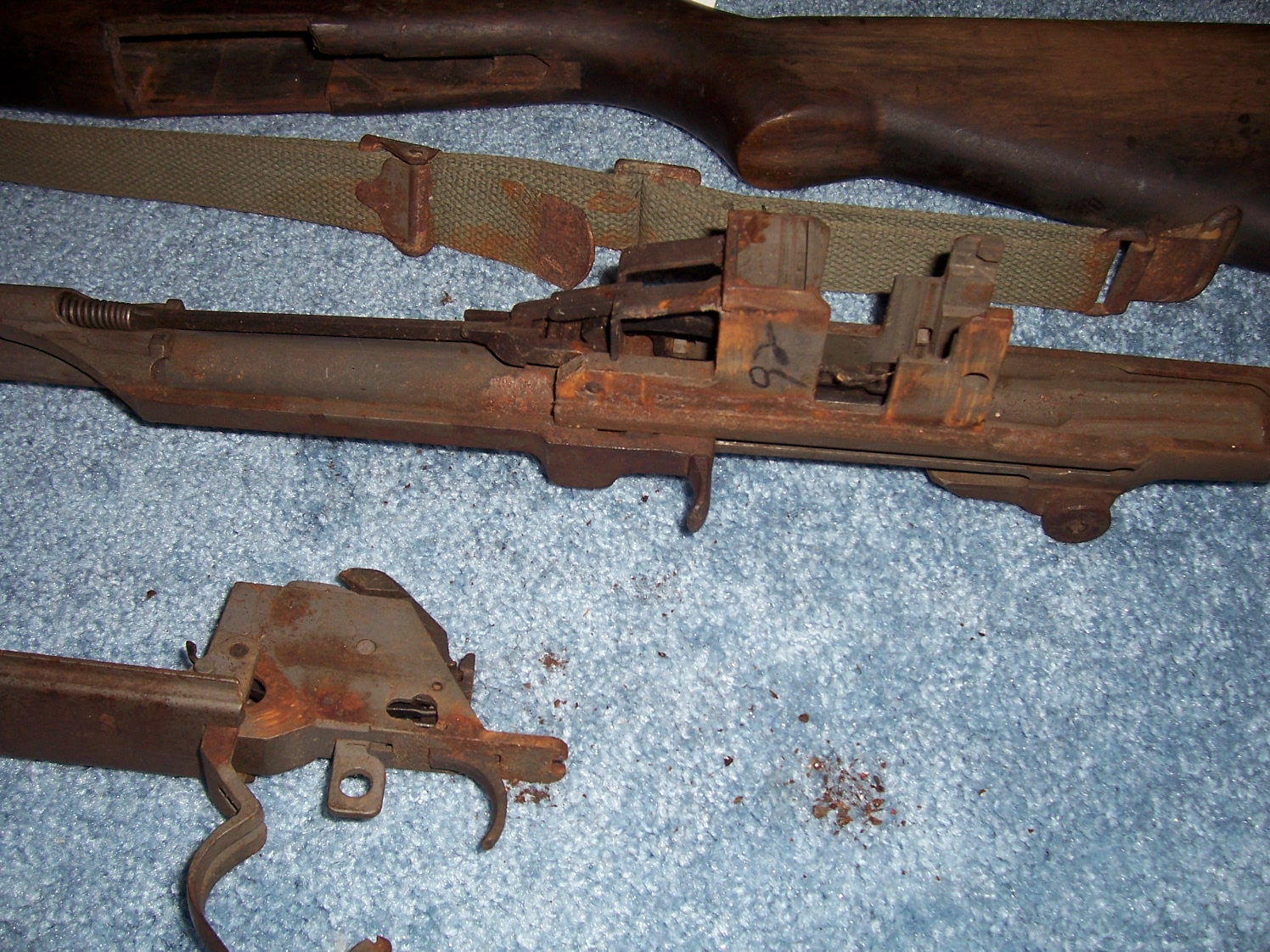 Whats the best way to take rust off M1 Garand? | Gun and