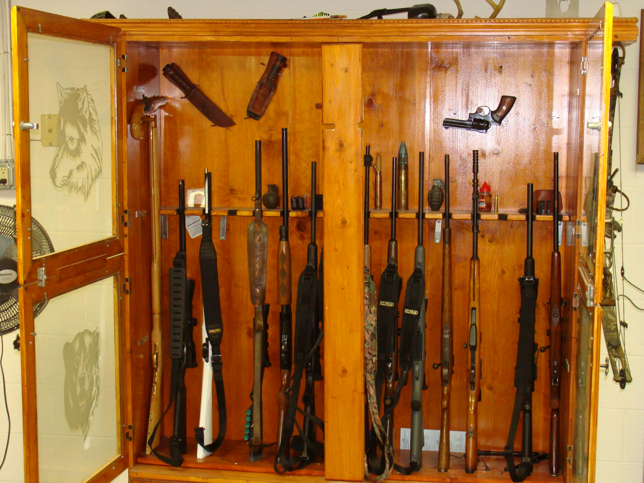 Wall Gun Rack Plans