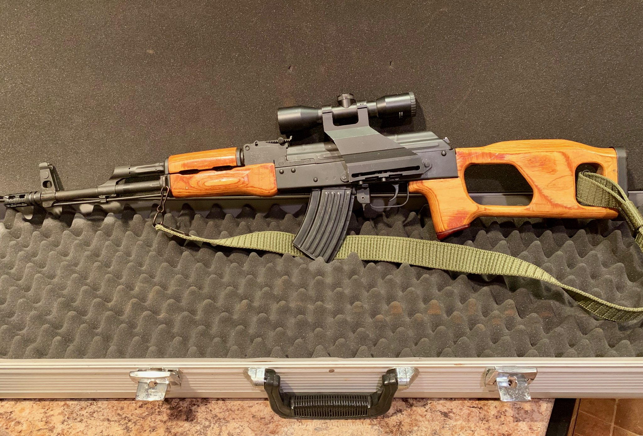Wow, a mid 90's Romanian Romak 991 single stack AK   | Gun