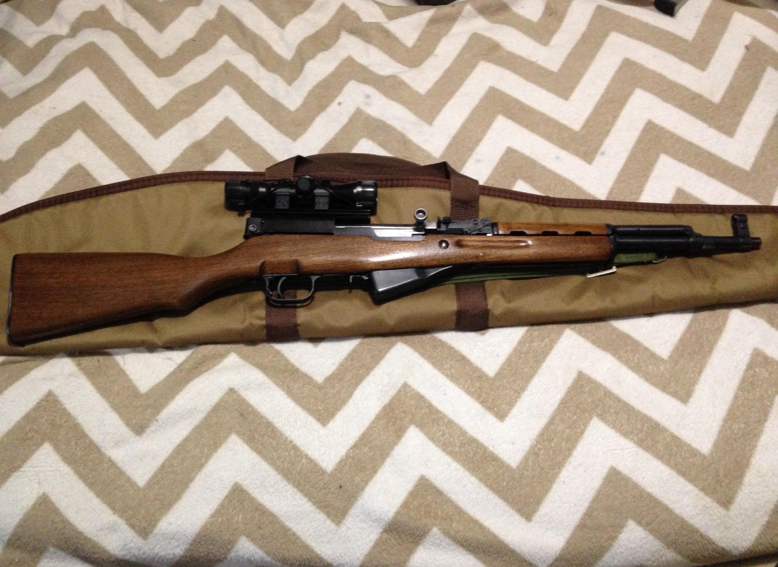 SKS stock refinished | Gun and Game - The Friendliest Gun