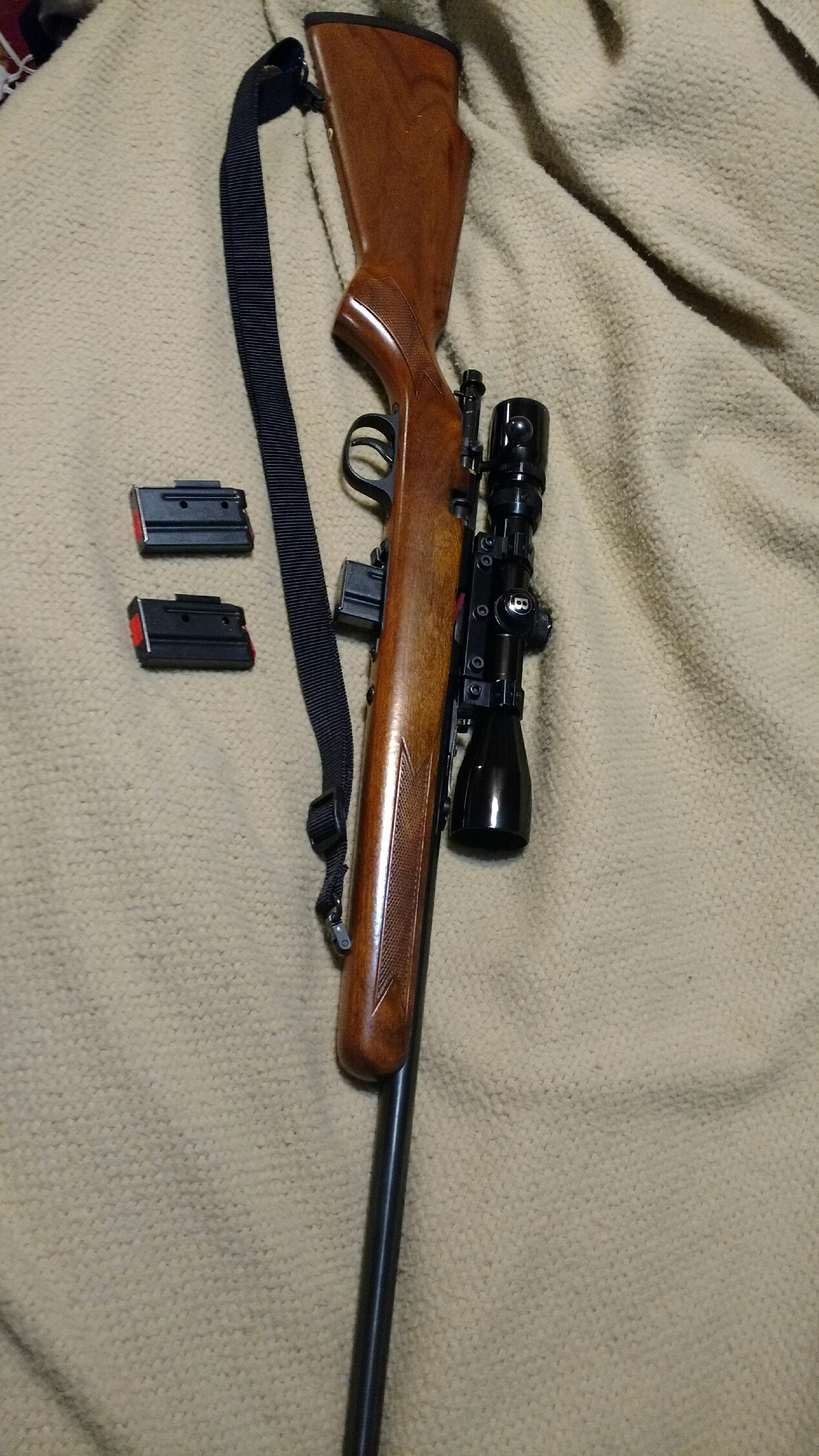 marlin model 882 22 mag i bought today gun and game the