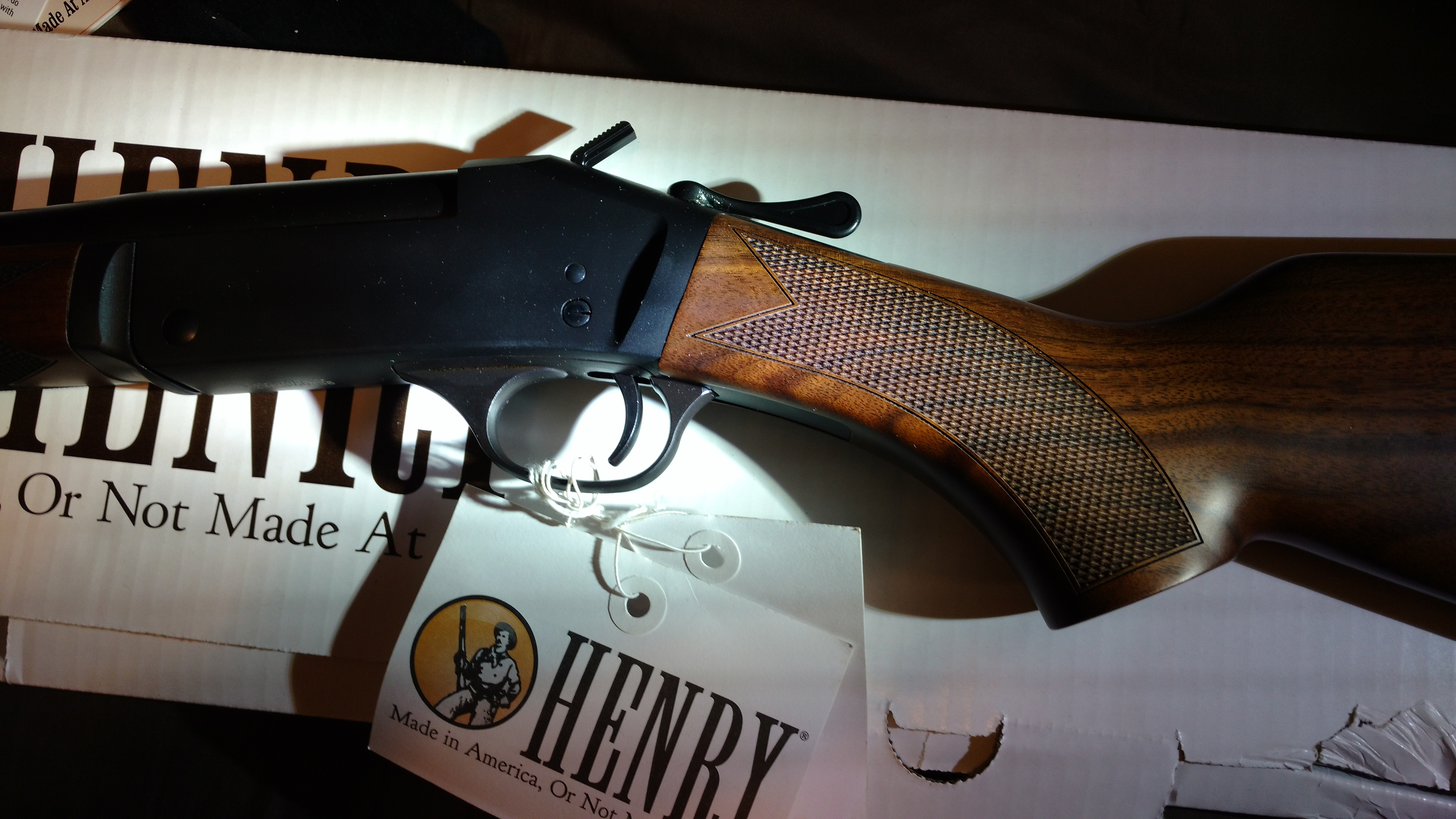 I picked up my new Henry single shot 223/ 5 56 today | Gun and Game