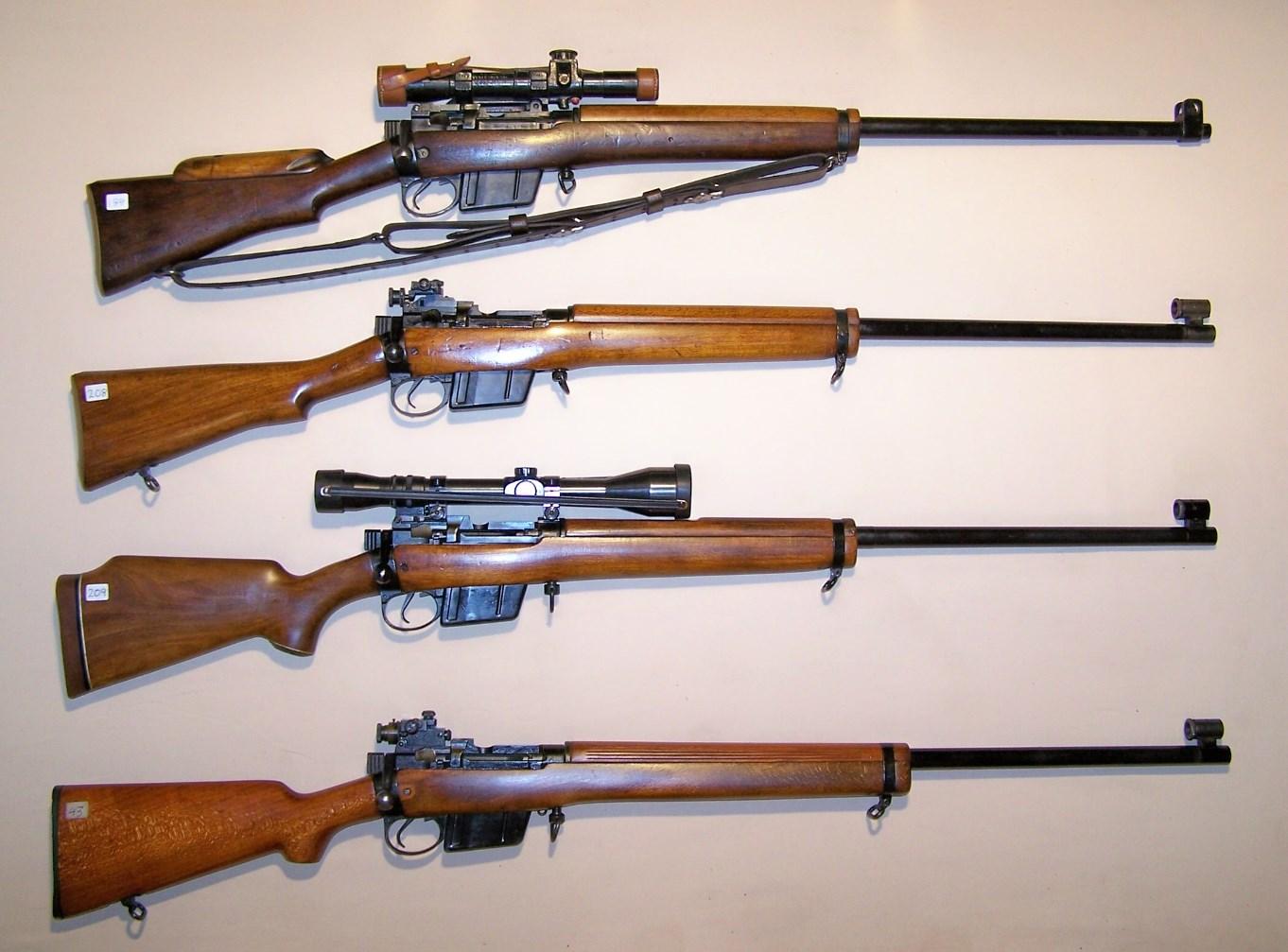 L42A1, L39A1, Enforcer & Envoy.JPG