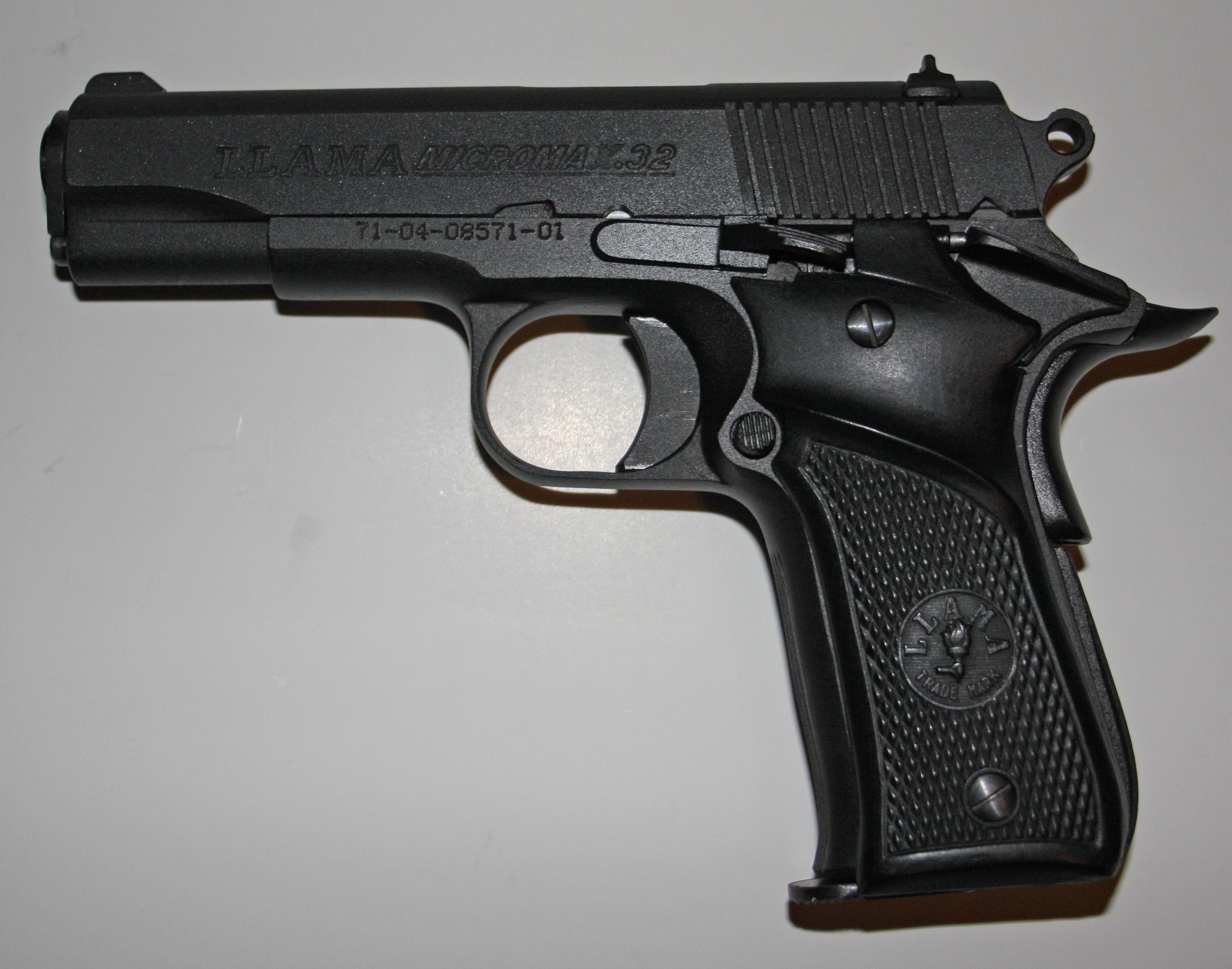 Llama firearms - Wikipedia