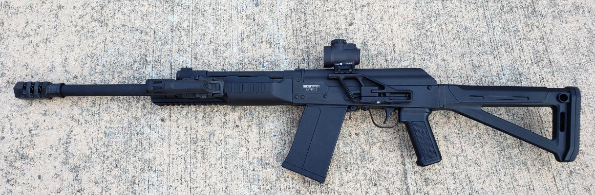 SDS Lynx-12 Shotgun mini review | Gun and Game - The