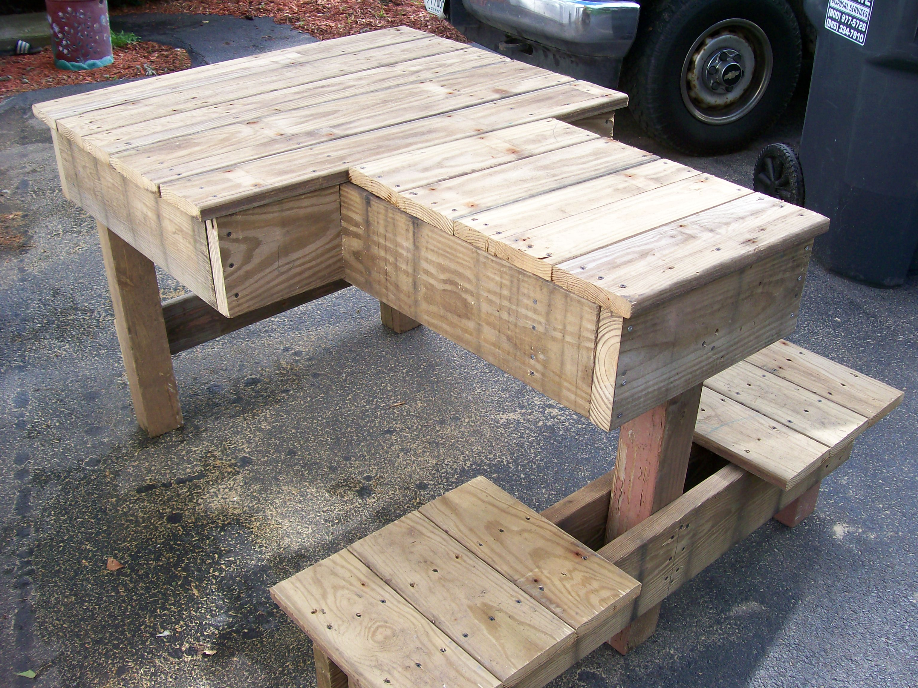 diy wood design shooting bench plans pdf